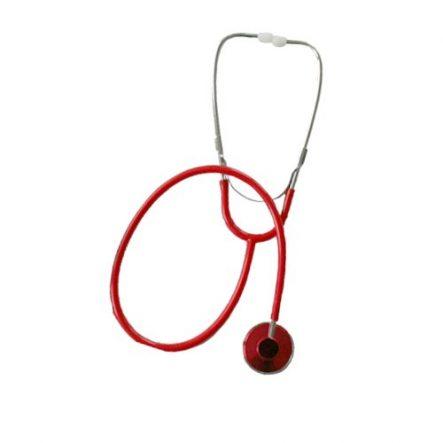 Flachkopf-Stethoskop Schwestern-Stethoskop rot